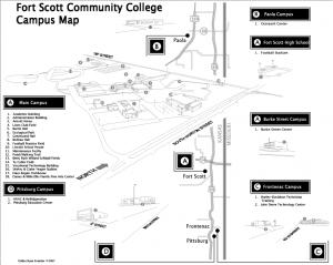 Fort Scott Community College - Campus Map