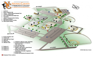 Neosho County Community College - Campus Map